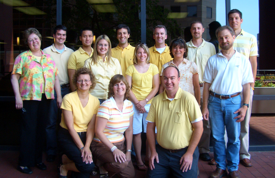 PGAV Destinations team photo for Yellow Wednesday